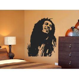 Samolepka na zeď Bob Marley 001