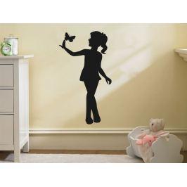 Samolepka na zeď Dívka 019