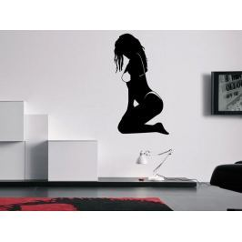 Samolepka na zeď Sexy žena 009