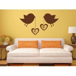 Samolepka na zeď Láska 001