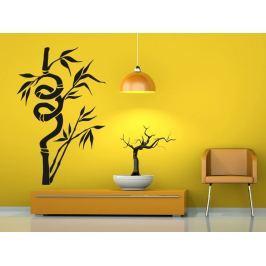 Samolepka na zeď Bambus 007