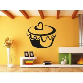 Samolepka na zeď Cupcake 0002