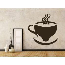 Samolepka na zeď Hrnek kávy 0048