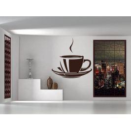 Samolepka na zeď Hrnek kávy 0058