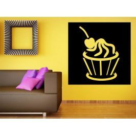 Samolepka na zeď Cupcake 0067