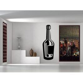 Samolepka na zeď Lahev vína 0079
