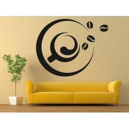 Samolepka na zeď Hrnek kávy 0099