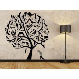 Samolepka na zeď Strom milovnice bot 0235