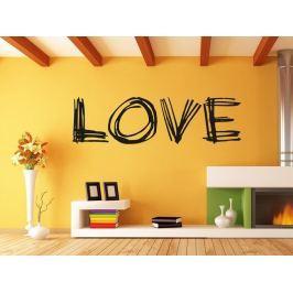 Samolepka na zeď Nápis Love 0236