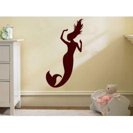 Samolepka na zeď Mořská panna 0283