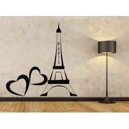 Samolepka na zeď Eiffelova věž 0307