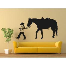 Samolepka na zeď Kůň 0396