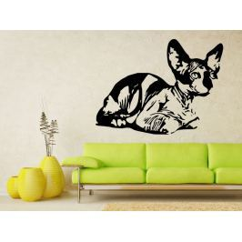 Samolepka na zeď Kočka 0452