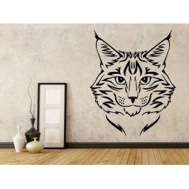 Samolepka na zeď Kočka 0461