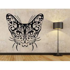 Samolepka na zeď Kočka 0482