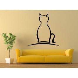 Samolepka na zeď Kočka 0499