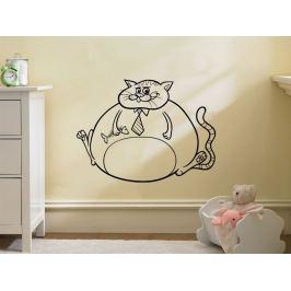 Samolepka na zeď Kočička 0521