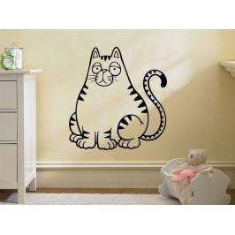 Samolepka na zeď Kočička 0522