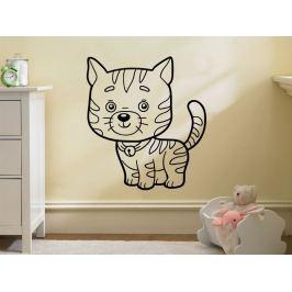Samolepka na zeď Kočička 0534
