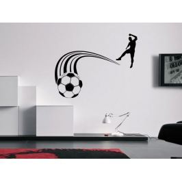 Samolepka na zeď Fotbalista 0578 Fotbalista