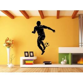 Samolepka na zeď Fotbalista 0581