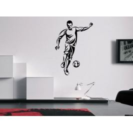 Samolepka na zeď Fotbalista 0582