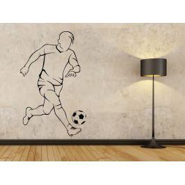 Samolepka na zeď Fotbalista 0584