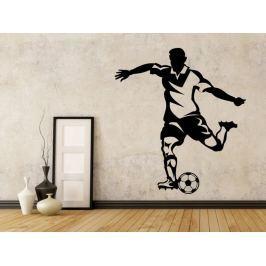 Samolepka na zeď Fotbalista 0586