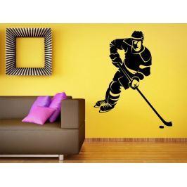 Samolepka na zeď Hokejista 0601