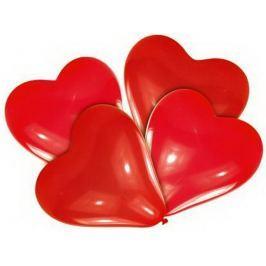 Balónky červené srdce 5ks