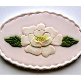 Patchwork na marcipán otevřená růže