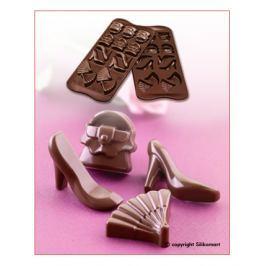 Silikomart Silikonová forma na čokoládu Fashion