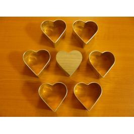 Formy na semifreda - srdce