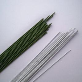 Aranžovací drátky zelené 28 gauge