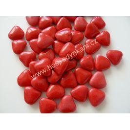 Čokoládová Červená srdíčka 50g