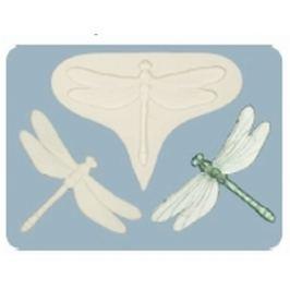 Silikonová forma na marcipán - vážka