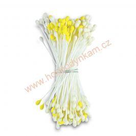 Pestíky žluté a bílé 144ks