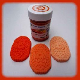 Gelová potravinářská barva Food Colours oranžová