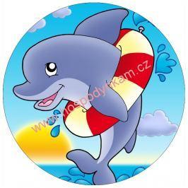 Jedlý papír delfín