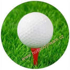 Jedlý papír golfový míček