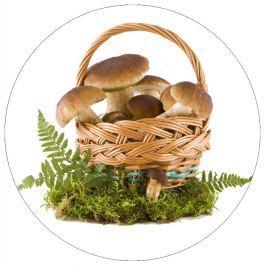 Jedlý papír košík hub