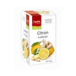 Ovocný čaj Apotheke citron a zázvor