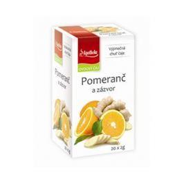 Ovocný čaj Apotheke pomeranč a zázvor