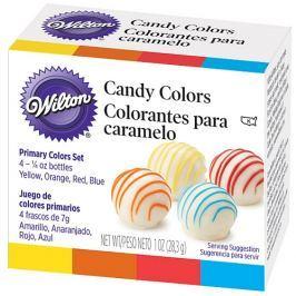 Wilton Barvy na čokoládu