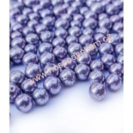 Cukrové zdobení - perličky fialové 50g