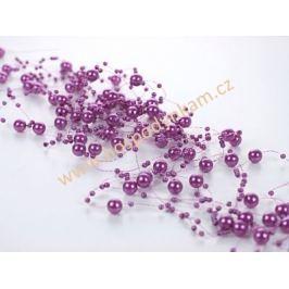 Perličky fialové
