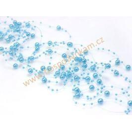 Perličky světle modré