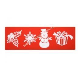 Modecor Forma na jedlou krajku Sweet Lace, vánoční