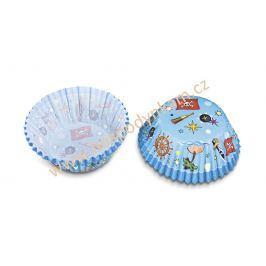 Cukrářské košíčky na pečení modré
