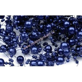 Perličky tmavě modré